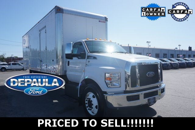 Pre-Owned 2018 Ford F-650SD Base